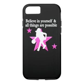 BELIEVE IN YOURSELF BASKETBALL STAR iPhone 8/7 CASE