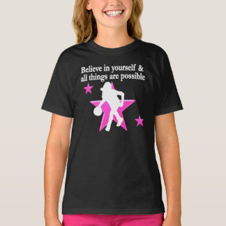 BELIEVE IN YOURSELF BASKETBALL STAR T-Shirt