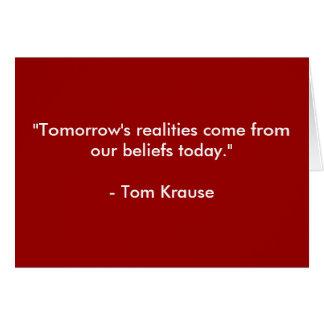 Believe in Yourself! Card