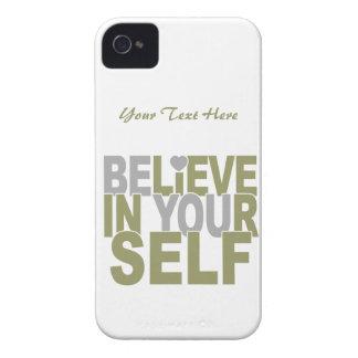 BELIEVE IN YOURSELF custom Blackberry Bold case