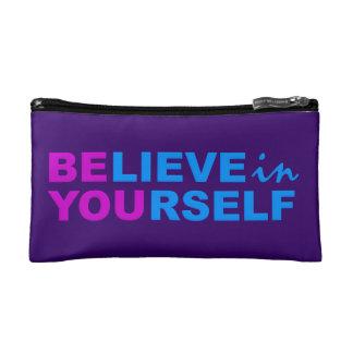 Believe In Yourself custom cosmetic / accessory ba Cosmetic Bag