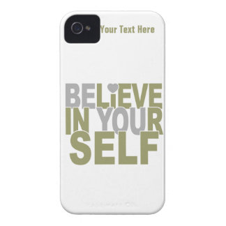 BELIEVE IN YOURSELF custom iPhone case-mate