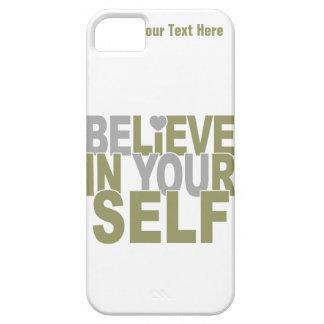 BELIEVE IN YOURSELF custom iPhone case-mate iPhone SE/5/5s Case