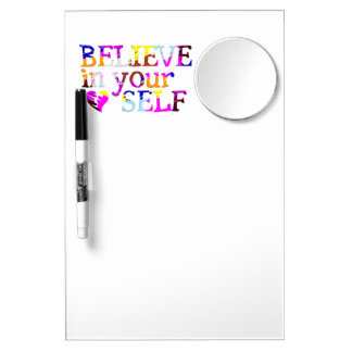 Believe In Yourself custom message board