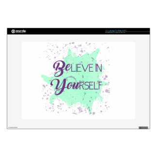 BElieve in YOUrself Decal For Laptop