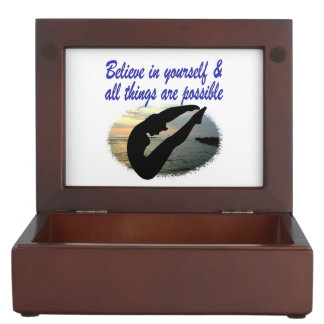 BELIEVE IN YOURSELF DIVER DREAMS MEMORY BOX