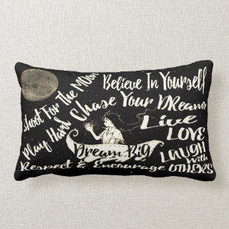 Believe in yourself Dream love pillow