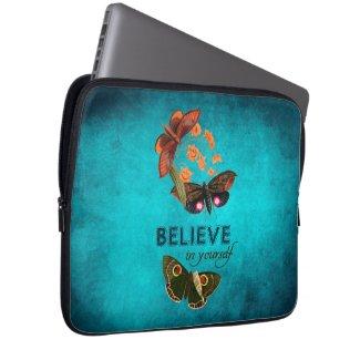 Believe In Yourself Laptop Computer Sleeve