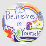 Believe in Yourself Motivational Stickers