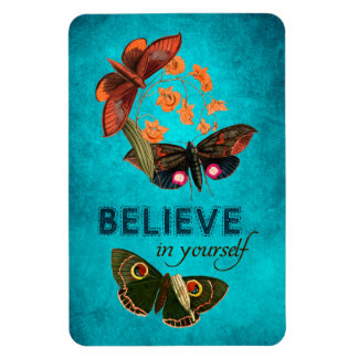 Believe In Yourself Rectangle Magnets
