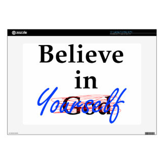 "Believe in Yourself 15"" Laptop Decal"
