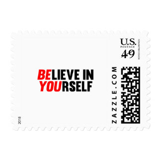 Believe in Yourself Stamp