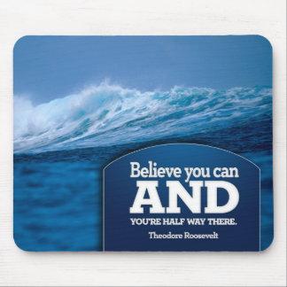 Believe Inspirational Mousepad