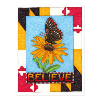 Believe Inspirational Postcard