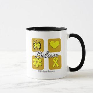 Believe Inspirations Bladder Cancer Mug