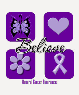 Believe Inspirations Cancer Awareness Tshirts
