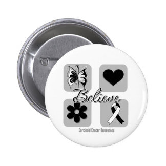 Believe Inspirations Carcinoid Cancer Pins