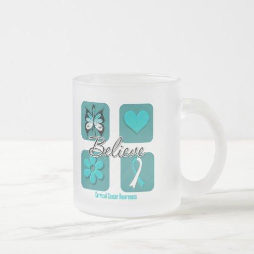 Believe Inspirations Cervical Cancer Coffee Mug