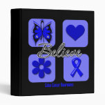 Believe Inspirations Colon Cancer Binders
