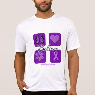 Believe Inspirations Crohn's Disease Tee Shirt