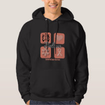 Believe Inspirations Endometrial Cancer Hoodie