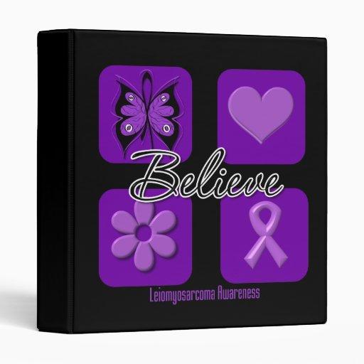 Believe Inspirations Leiomyosarcoma Binders