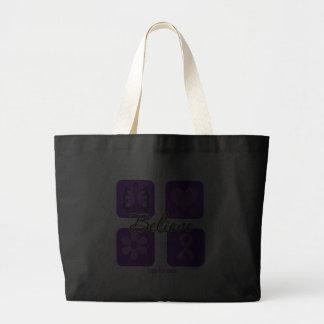 Believe Inspirations Lupus Awareness Bag