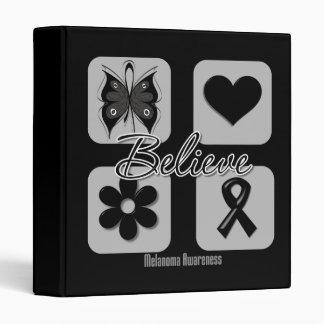 Believe Inspirations Melanoma Binders