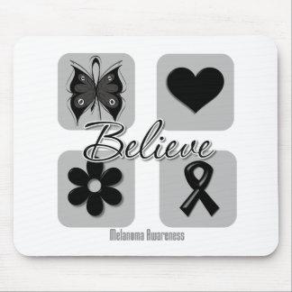 Believe Inspirations Melanoma Mousepads