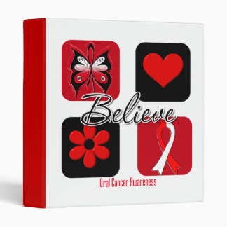 Believe Inspirations Oral Cancer Binders