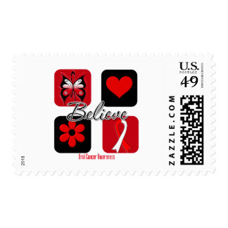 Believe Inspirations Oral Cancer Postage