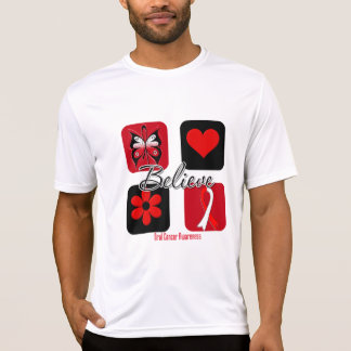 Believe Inspirations Oral Cancer T Shirts
