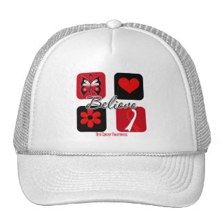 Believe Inspirations Oral Cancer Trucker Hat