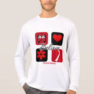 Believe Inspirations Oral Cancer T Shirt