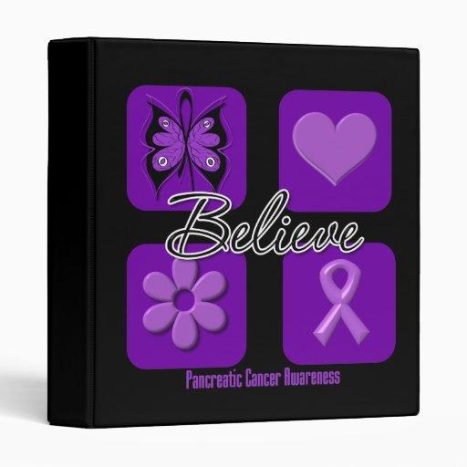 Believe Inspirations Pancreatic Cancer Binders