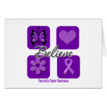 Believe Inspirations Pancreatic Cancer Card