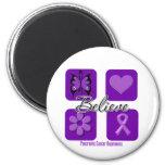 Believe Inspirations Pancreatic Cancer Refrigerator Magnet