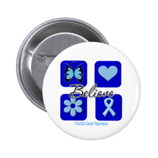 Believe Inspirations Prostate Cancer Pins
