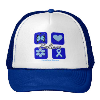 Believe Inspirations Prostate Cancer Trucker Hat