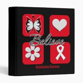Believe Inspirations Retinoblastoma Binder