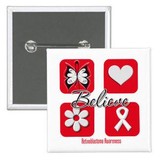 Believe Inspirations Retinoblastoma Button