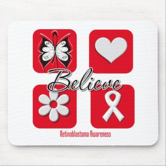 Believe Inspirations Retinoblastoma Mouse Pad