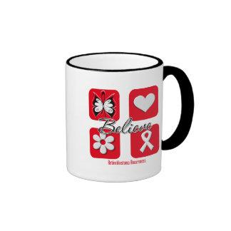 Believe Inspirations Retinoblastoma Ringer Coffee Mug