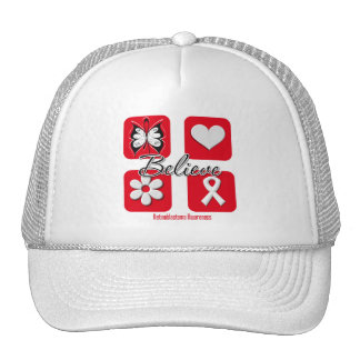 Believe Inspirations Retinoblastoma Trucker Hat