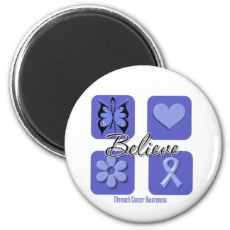 Believe Inspirations Stomach Cancer Fridge Magnet