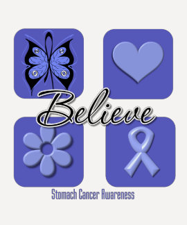 Believe Inspirations Stomach Cancer Shirts