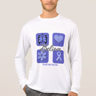 Believe Inspirations Stomach Cancer Tshirt