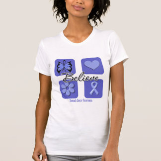 Believe Inspirations Stomach Cancer Tshirts