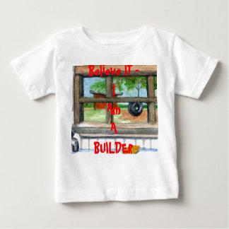 Believe IT I am a Builder Toddler Tshirts Children