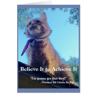 USA Themed Believe It to Achieve It! Greeting Card